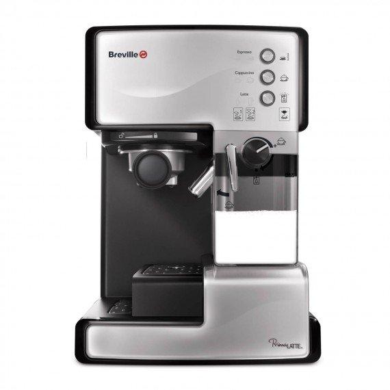 Ekspres do kawy kolbowy Breville Prima Latte Srebrny VCF045X