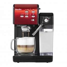 Ekspres do kawy kolbowy Breville Prima Latte II Czerwony VCF109X