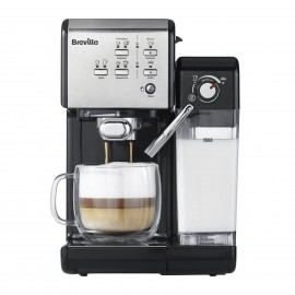 Ekspres do kawy kolbowy Breville Prima Latte II Srebrny VCF108X