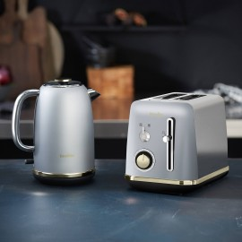 Czajnik elektryczny Breville Mostra VKT147X + Toster Breville Mostra 2 kromki VTT935X