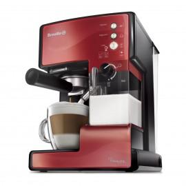 Ekspres do kawy kolbowy Breville Prima Latte czerwony VCF046X